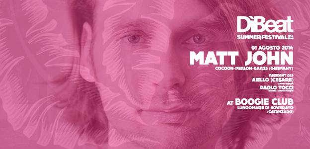 MATT JOHN : 01.08.2014