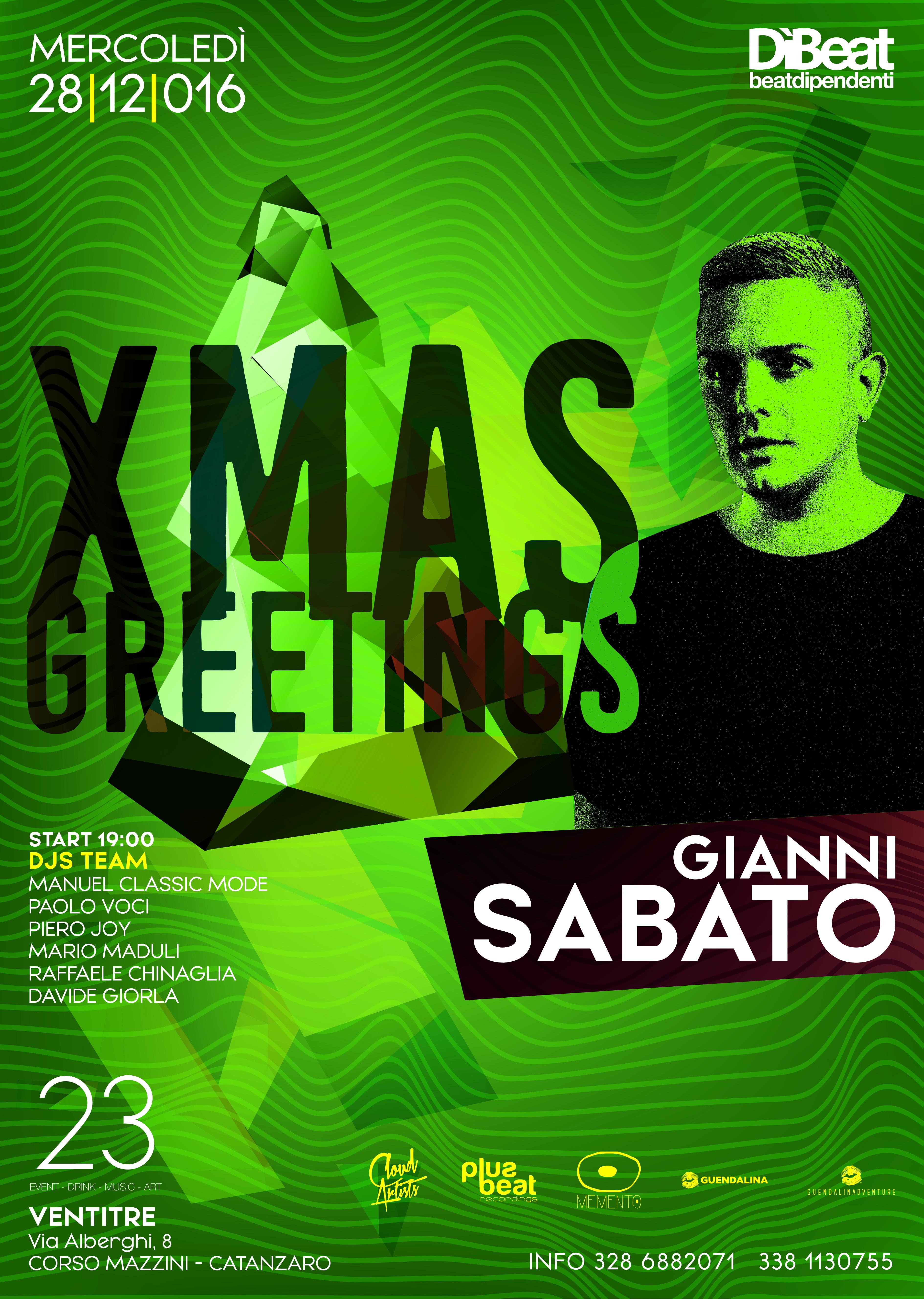28.12_ XMAS Greetings w/ Gianni Sabato plus Circle residents